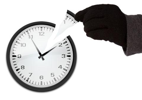 Le voleur du temps
